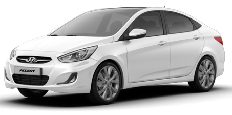 Hyundai ACCENT BLUE 2016 MODEL